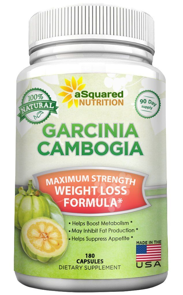 100% Pure Garcinia Cambogia Extract - 180 Capsule Pills, Natural Weight  Loss Diet Supplement, Ultra High Strength HCA, Best Max XT Premium Slim  Detox Tablet ...