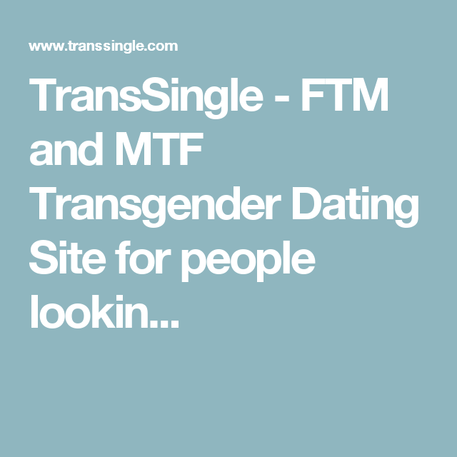 Ftm dating sites