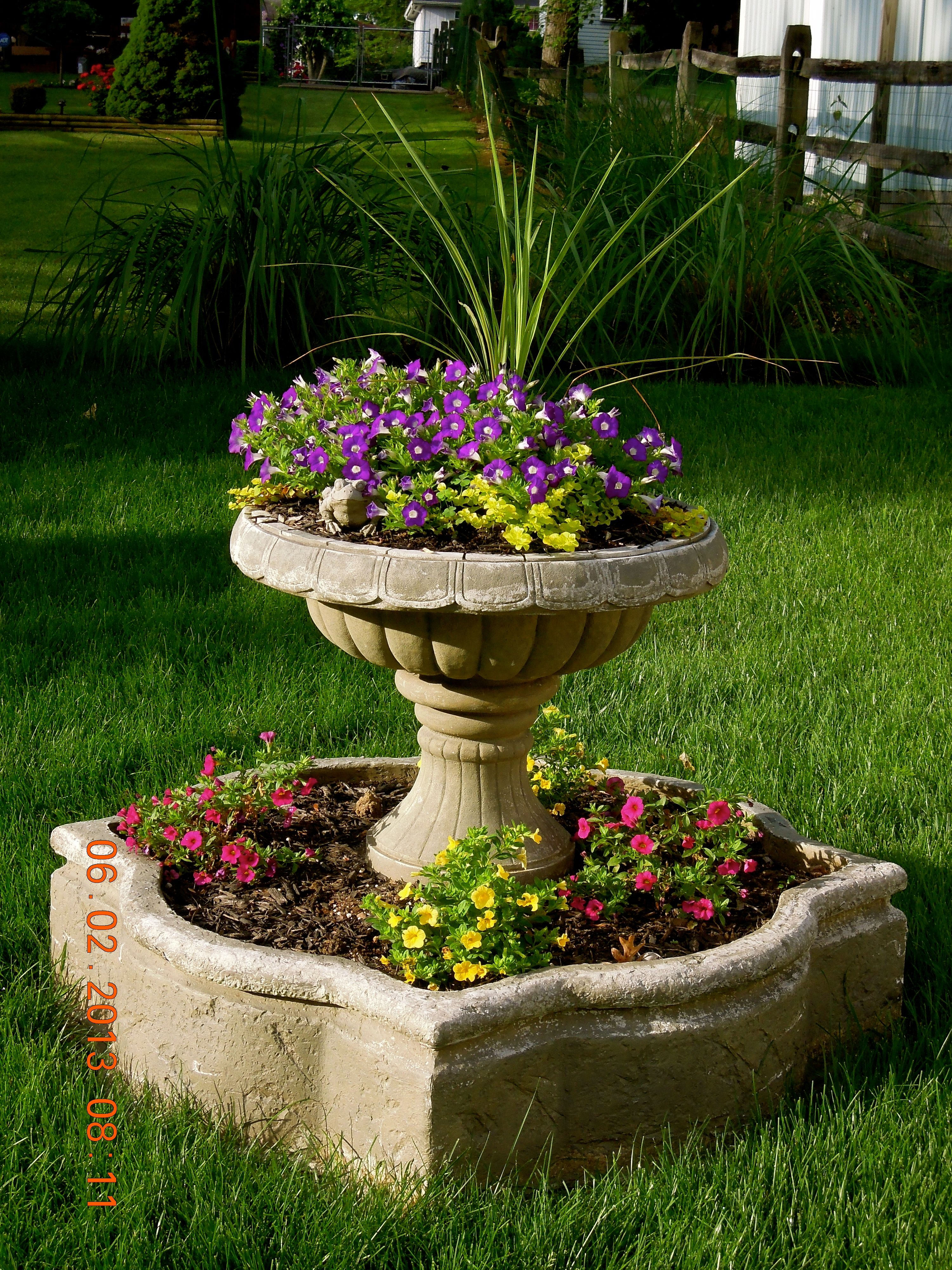 Repurposed Water Fountain Turned Into A Planter 400 x 300