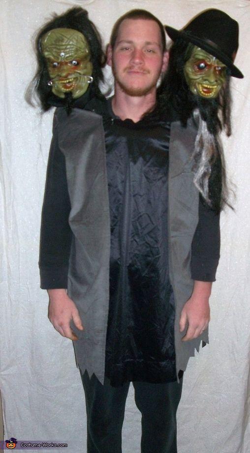 Three Headed Man - Halloween Costume Contest at Costume-Works - 4 man halloween costume ideas