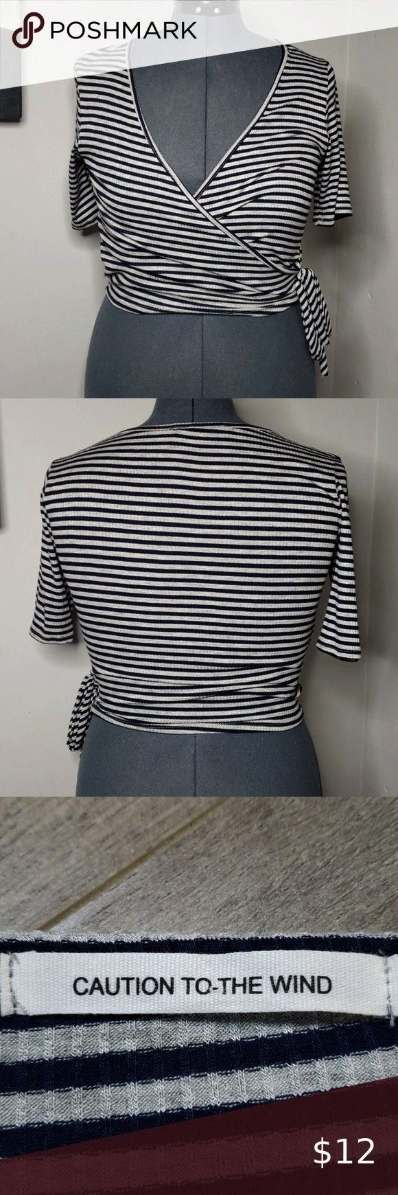 added this listing on Poshmark Caution to the Wind Crop Top  Large To The WindI just added this listing on Poshmark Caution to the Wind Crop Top  Large To The Wind Childr...
