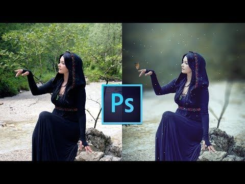 Photoshop Tutorial How To Edit Outdoor Portrait Blur Background Youtube Photoshop For Photographers Photoshop Photography Photo Editing Photoshop