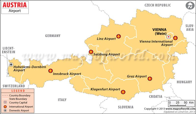 Map of airports in austria maps pinterest austria and airports in austria austria airports map publicscrutiny Images
