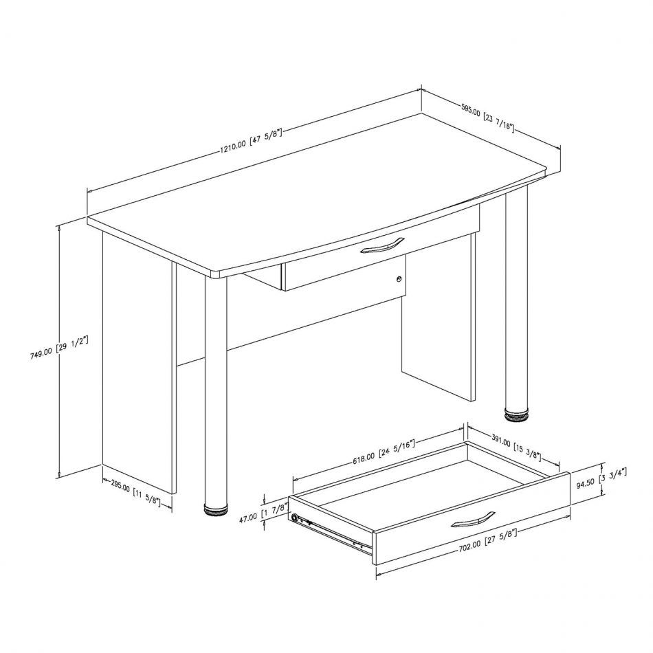 Standard Office Desk Dimensions Modern Home Furniture Check More At Http