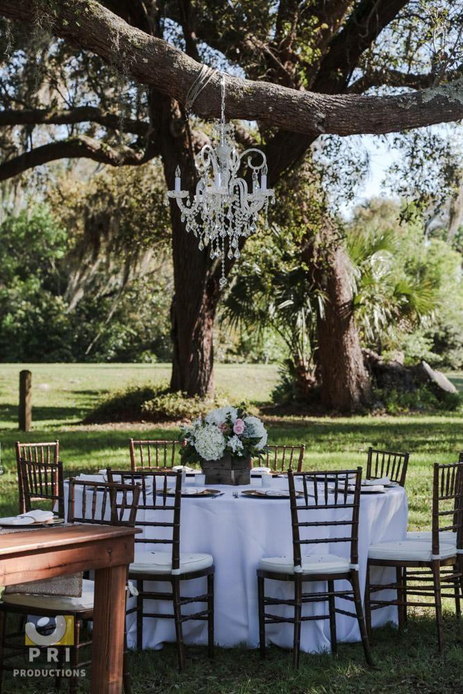 Rustic Wedding Centerpiece for outdoor wedding in ...
