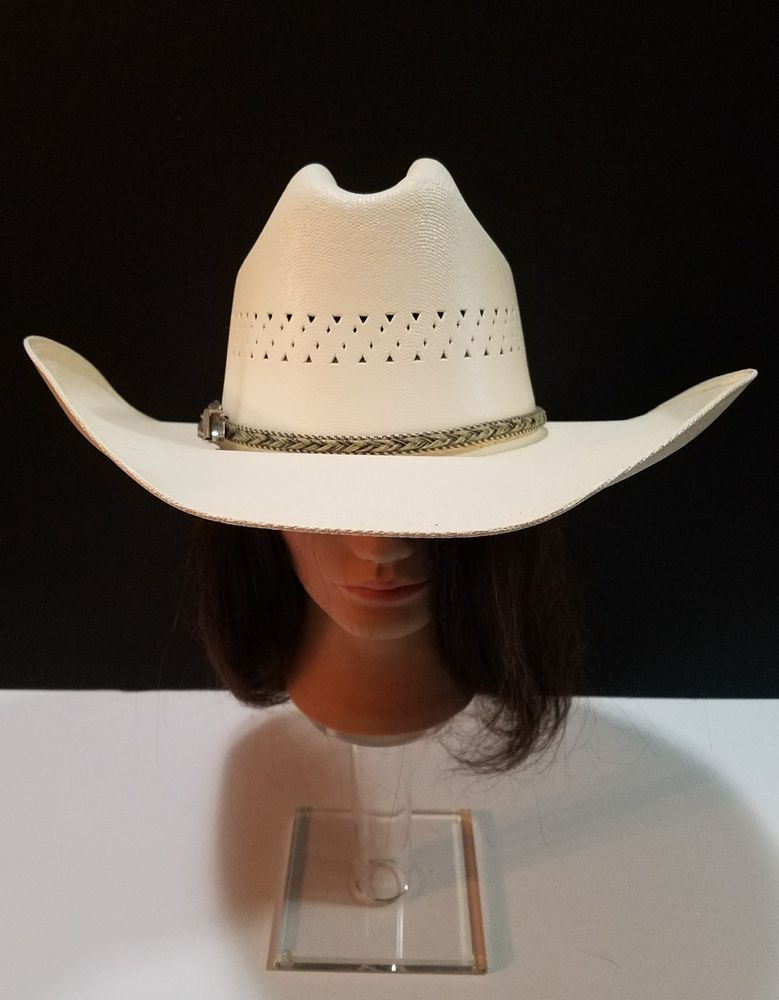Cowboy Canvas XXXXX Size 7 with Hatband By Turner Hats ~ Made in Mexico   TURNERHATS  CowboyWestern ed90c21429f