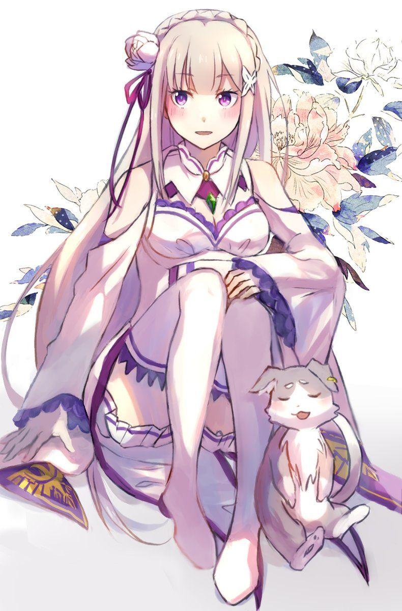 Emilia (790×1200) Dibujos de anime, Ilustraciones, Arte