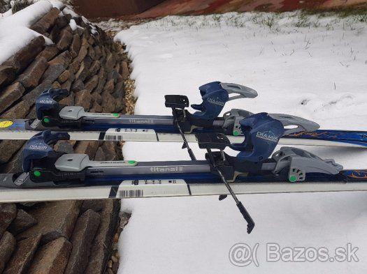 Predám dámske pánske skialpinistické lyže - 1  4cde3db5f35