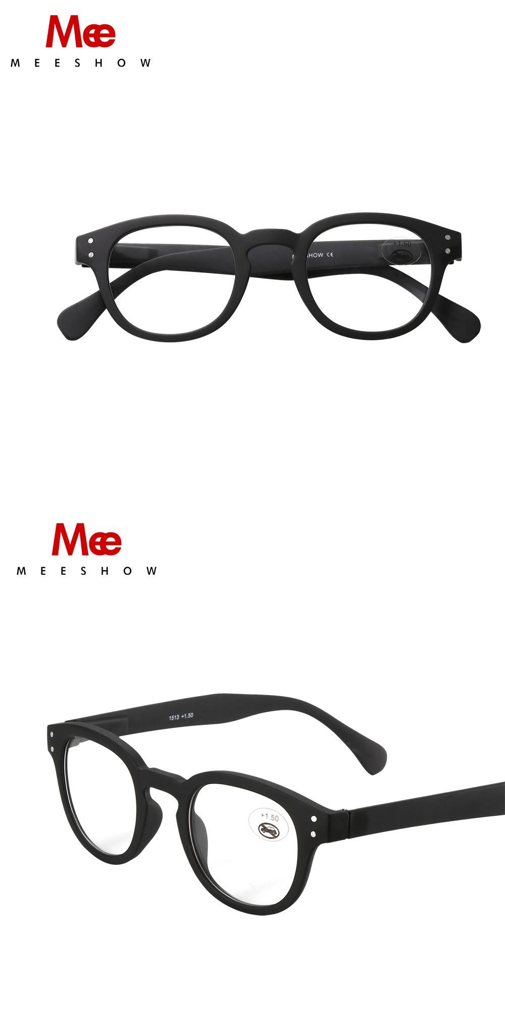 ae4b8c9050 2018 MEESHOW Europe style hot sales Men women eyeglasses quality optiker  brille with customized lens 1513