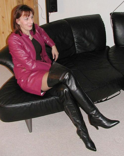 Mature wife boots