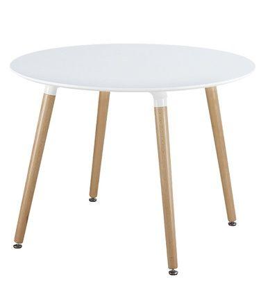 Villas-ruokapöytä, valkoinen