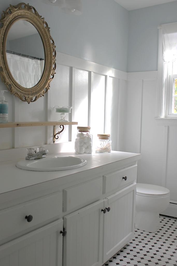 Diy Bathroom Makeover Benjamin Moore Glass Slipper For The Home Pinterest Benjamin Moore