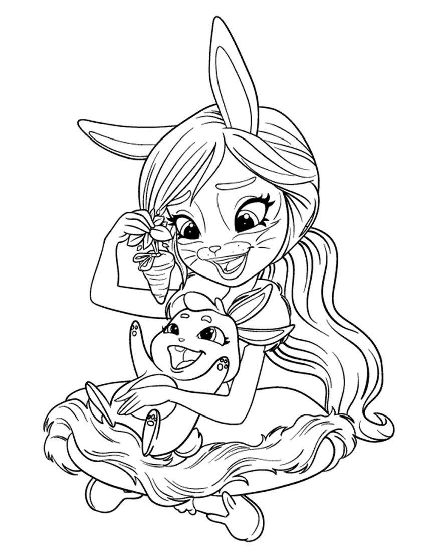 Enchantimals New Free Printable Coloring Pages Cute Coloring Pages Cool Coloring Pages Poppy Coloring Page