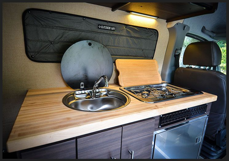 Butcher Block Countertop Butcher Block Countertops House On Wheels Galley Sink