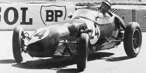 Cliff Allison 1958 Lotus Climax
