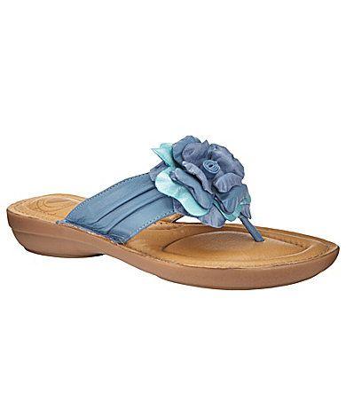 Cute blue sandals