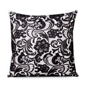 $18 Onna Cushion Cover (Black)
