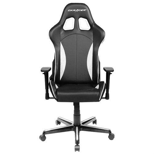 Dxracer F Chair Black White Battlestation Pcmasterrace Pcmr