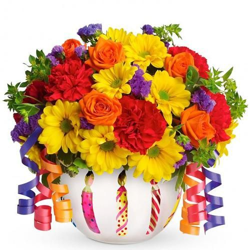 Pin by CAPPELLETTI FLORIST on BIRTHDAY FLOWER ARRANGEMENTS