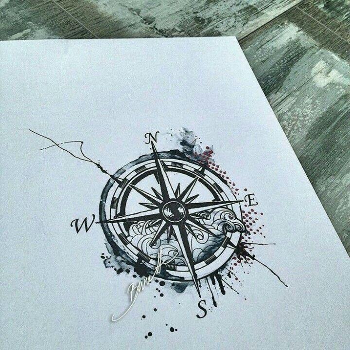 Tattoo Rosa De Los Vientos Tats Pinterest Tattoos Compass