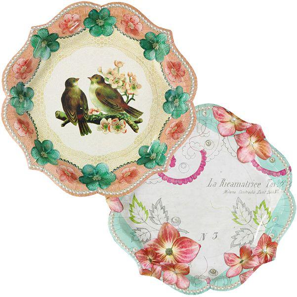 English Tea PartyPaper Plates 21cm£3.5912pk