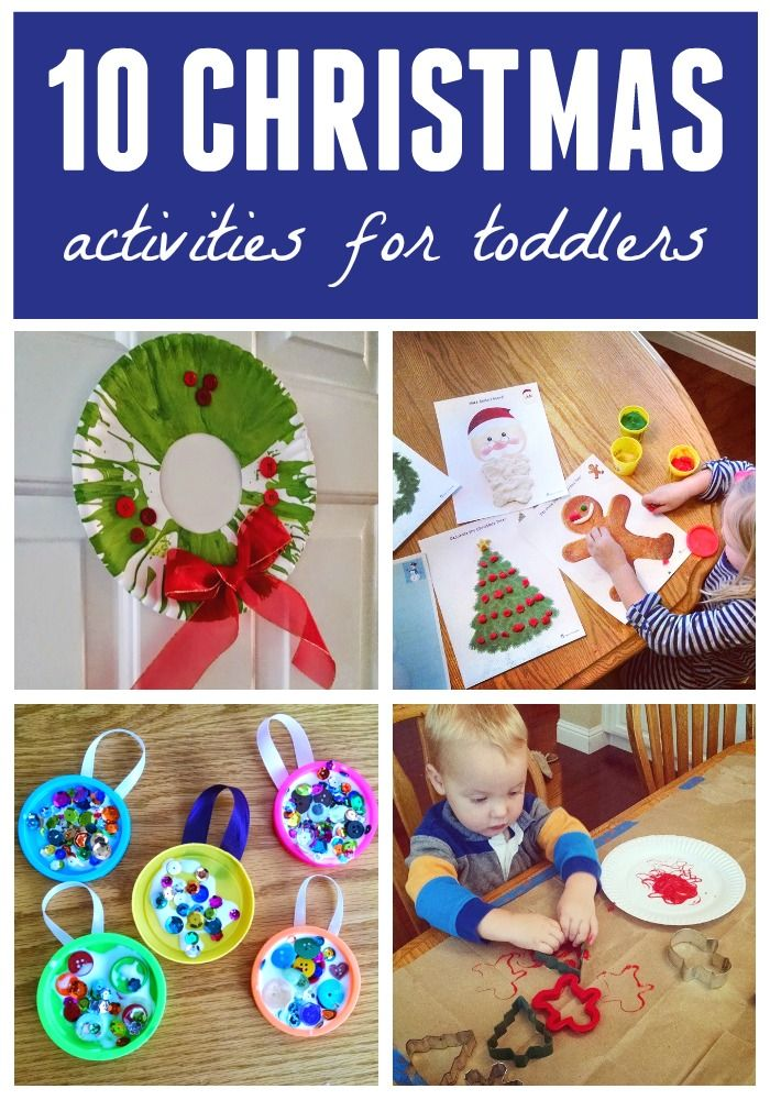 10 Simple Christmas Activities for Toddlers | Parents, A love and ...