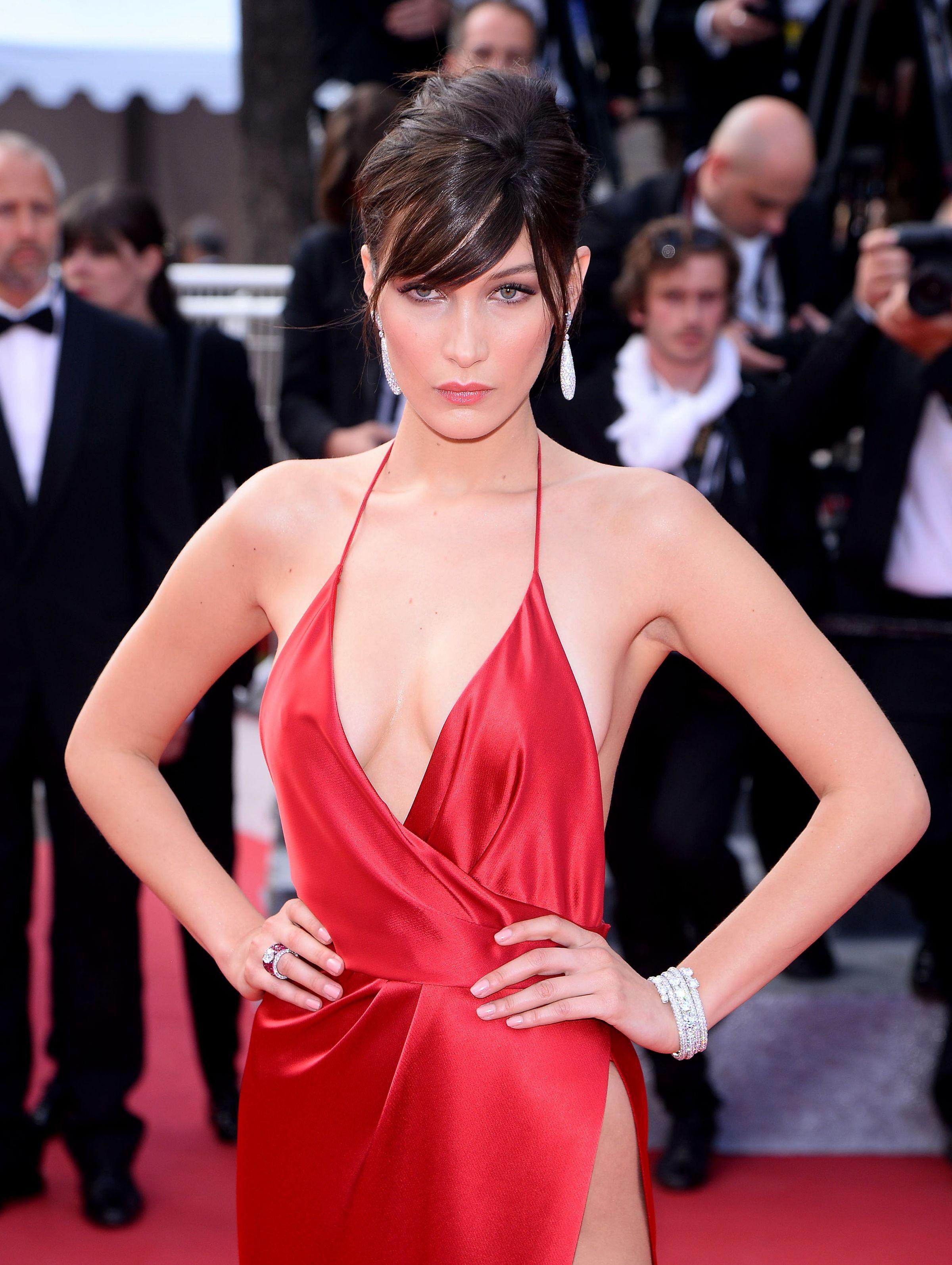 Bella Hadid Cannes red carpet 2016 (2400×3187) | bella haded ...