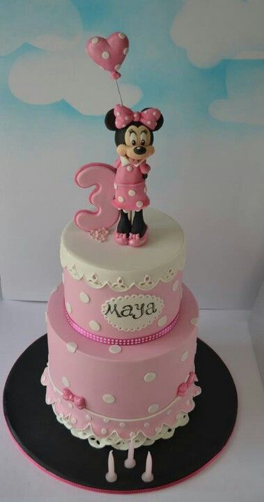 Pin By Yolanda Guerra On Minnie Mouse Cakes Tarta Minnie Pastel