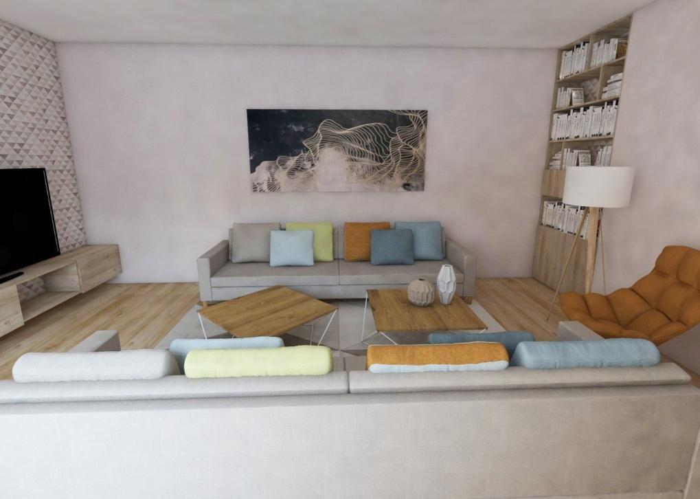 Dominantný obraz v obývačke