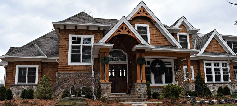 Masonry Supplies In Wayne Nj Our Featured Project White Windows House Styles Masonry