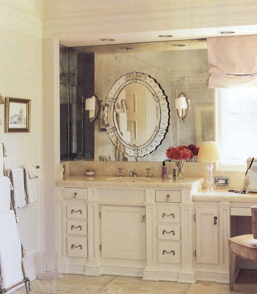 Layered Mirrors Bathroom Trends Home Bathroom Decor
