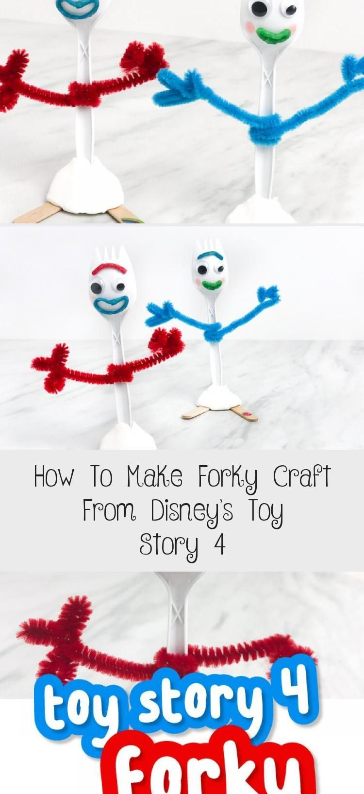 How To Make Forky Craft From Disneys Toy Story 4  Toys This easy DIY Disney craft from Toy Story 4 is a simple craft for kids that s great for preschoo