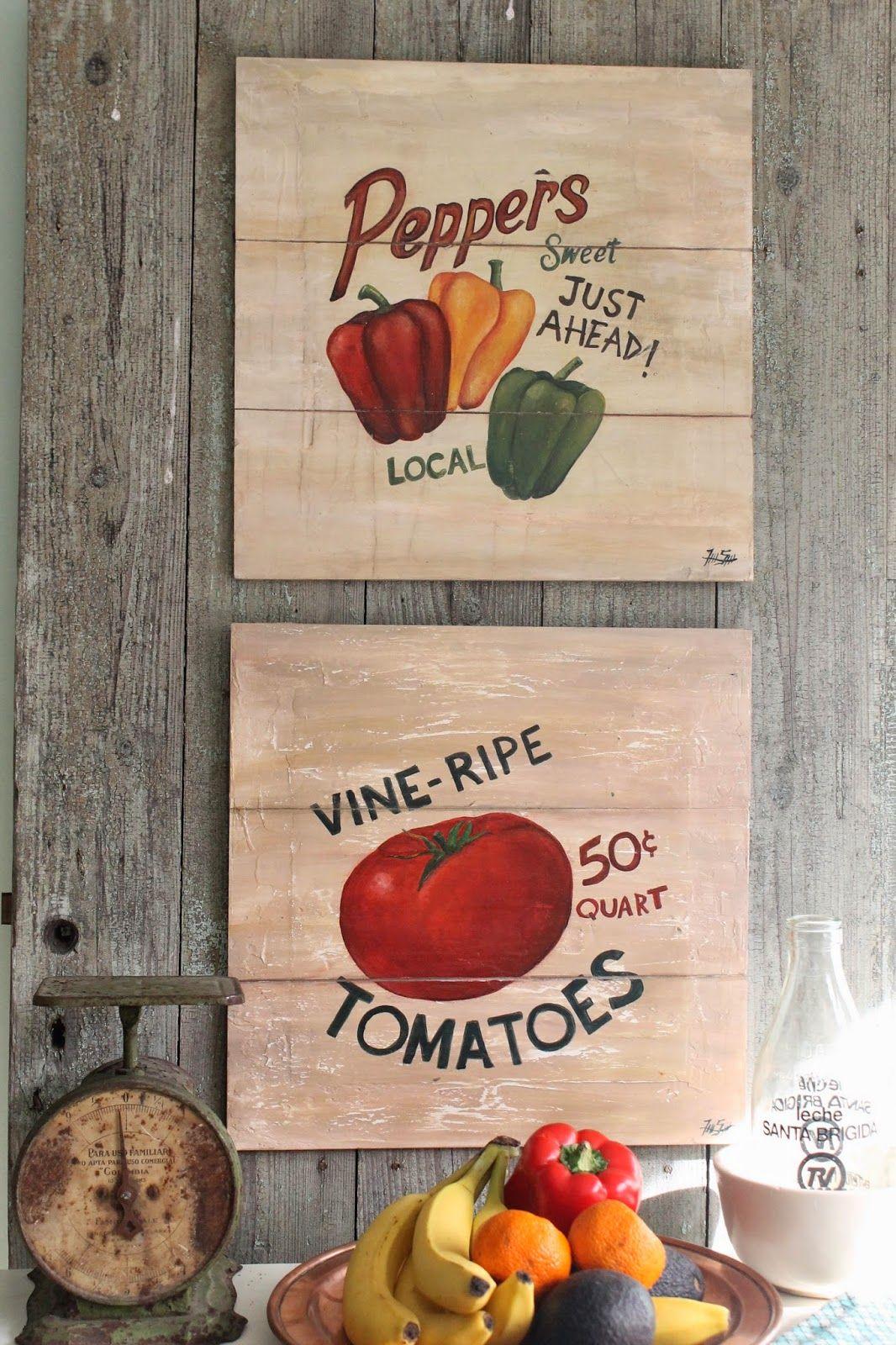 M s de 25 ideas incre bles sobre cuadros para la cocina en - Cuadros cocina vintage ...