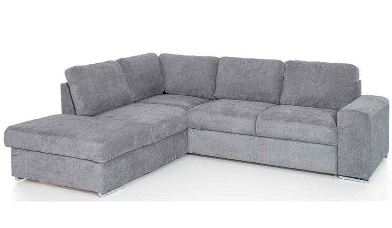 Canapé d'angle gauche convertible 4 places ADORA pas cher