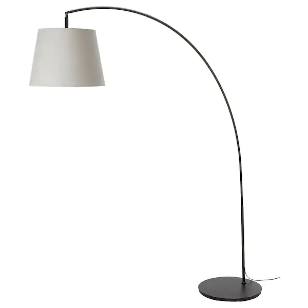 tall overhanging lamp shade