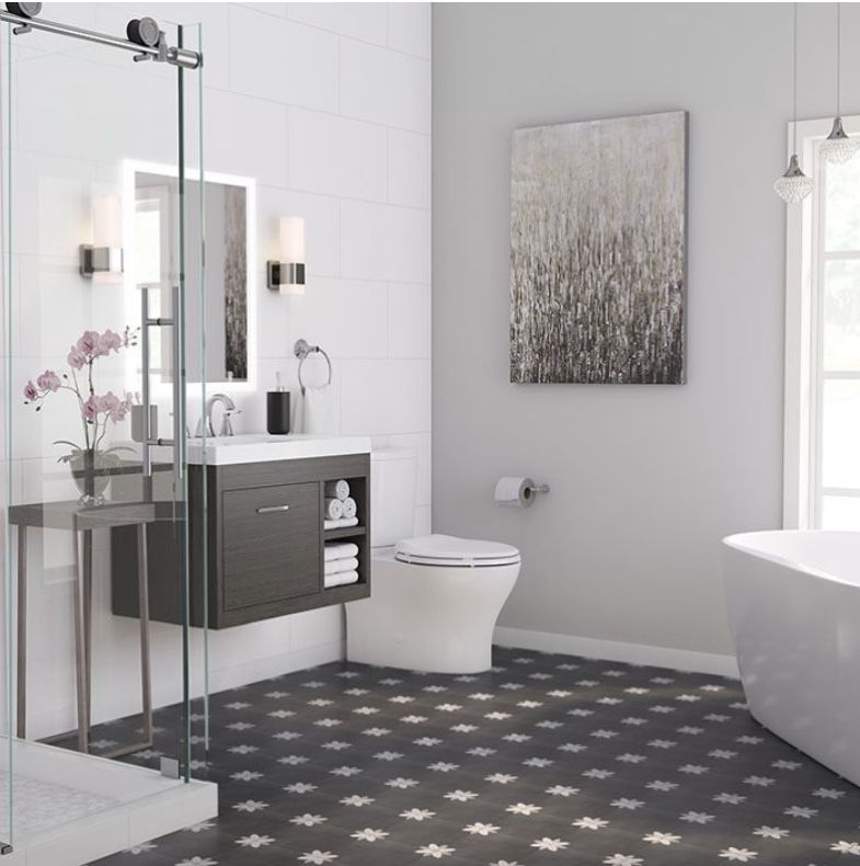 LOWE'S HOME REMODELING INSPIRATIONAL BATHROOMS in 2020 ...