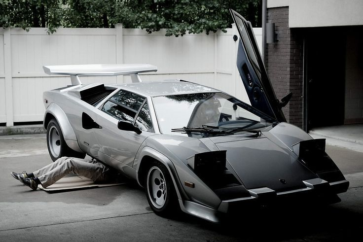 This Millionaire Hung A Lamborghini Countach On His Wall In His House Just  Because | Lamborghini, Dream Garage And Cars