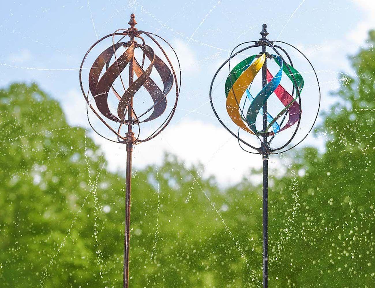 Hydro Ball Garden Wind Spinner Wind Spinners Kinetic Wind Spinners Garden Wind Spinners