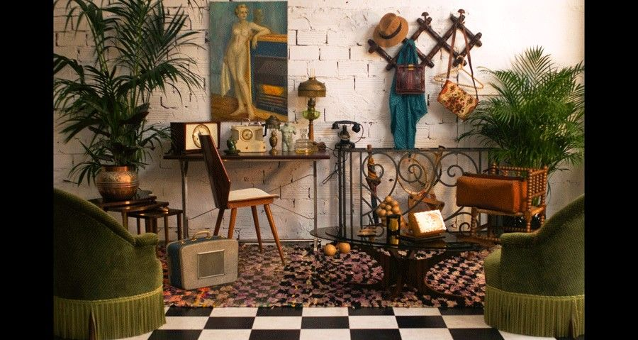 Ambiance d coration r tro vintage arteslonga for Art et decoration salon