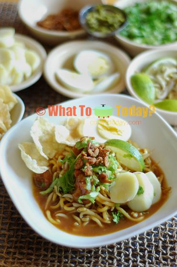 Mie Rebus Medan : rebus, medan, INDONESIAN, BOILED, NOODLES, GRAVY, REBUS, Asian, Recipes,, Cooking, Recipes