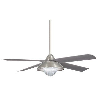 """Minka Aire 56"""" Shade 4 Blade Outdoor LED Ceiling Fan ..."""