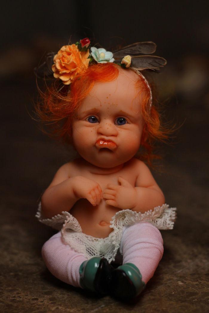 Прикольные картинки кукла, днем рождения