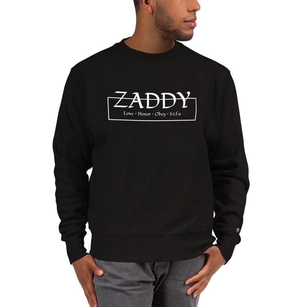 Love Honor Obey Zaddy Champion Sweatshirt In 2020 Sweatshirts Champion Sweatshirt Mens Champion Sweatshirt