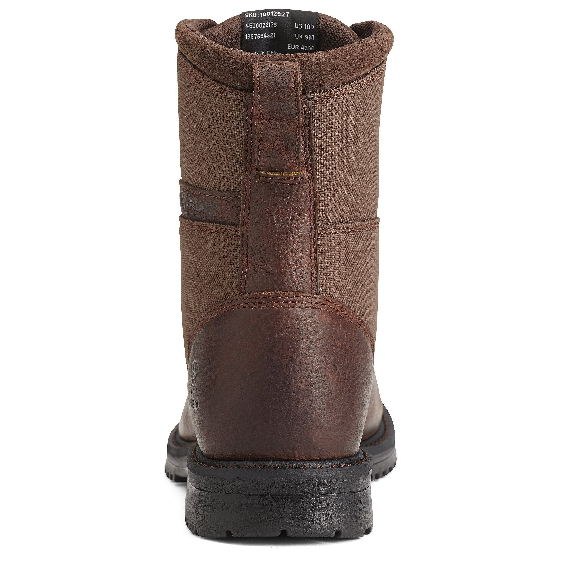 Men S Rigtek 8 Wide Square Composite Toe Work Boots In Oiled Brown Leather Size 11 Ee Wide By Ariat Composite Toe Work Boots Brown Leather Boots