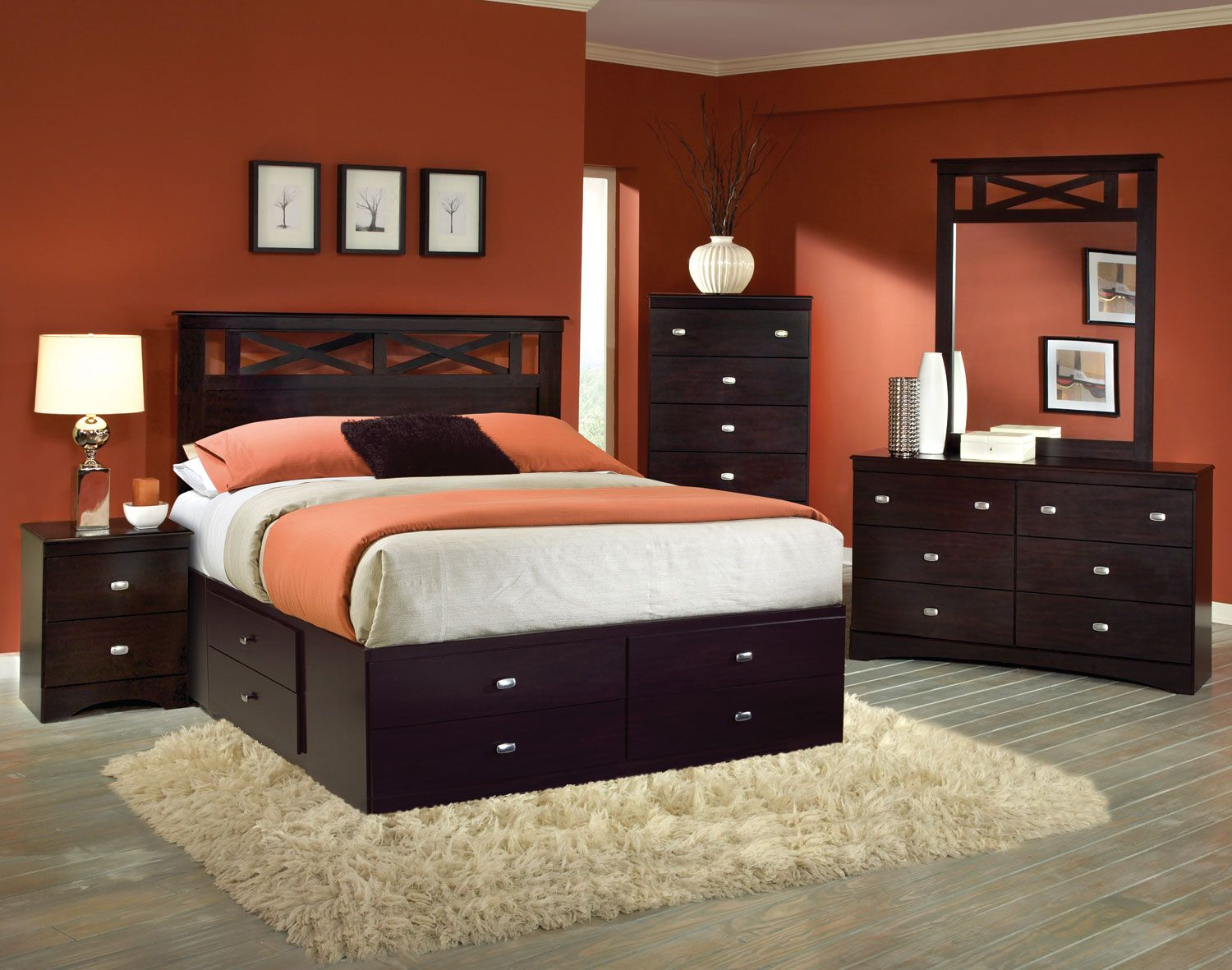 Kith furniture tyler panel storage bedroom set bedroom chic