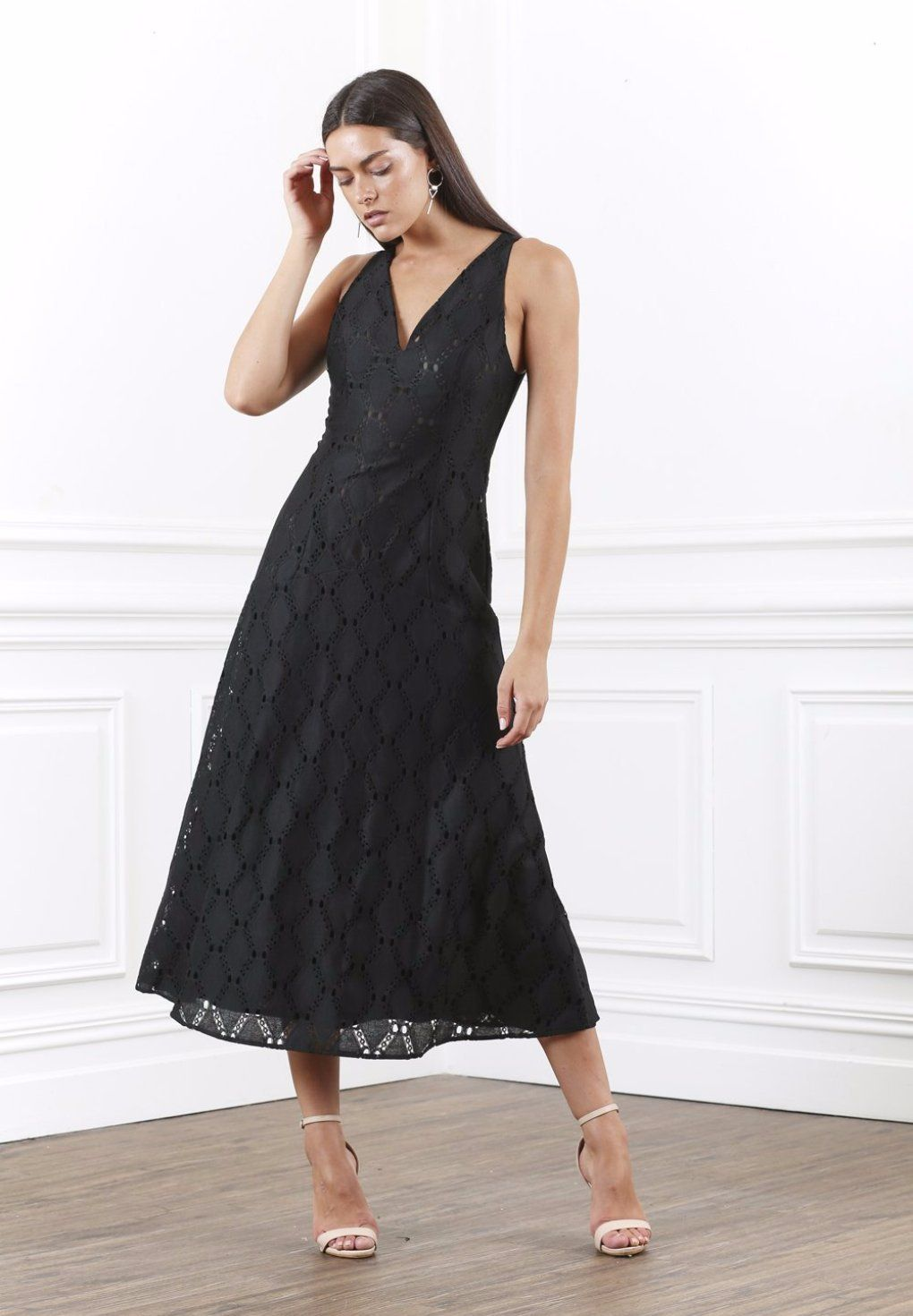 Shilla lustre lace long dress in black shilla pinterest lace
