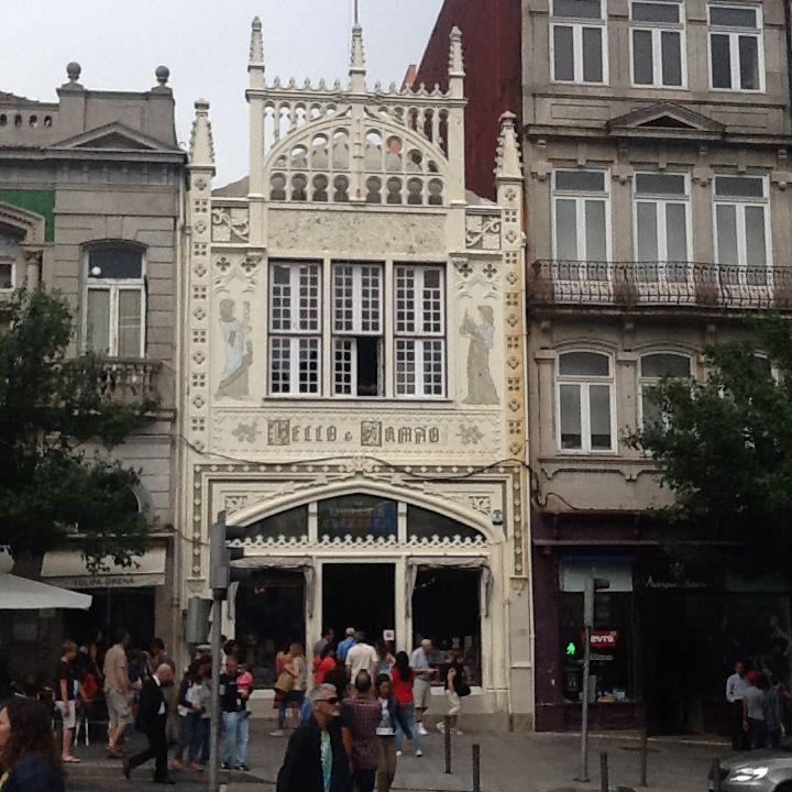 Librería Lello en Porto, más conocida como la librería de Harry Potter