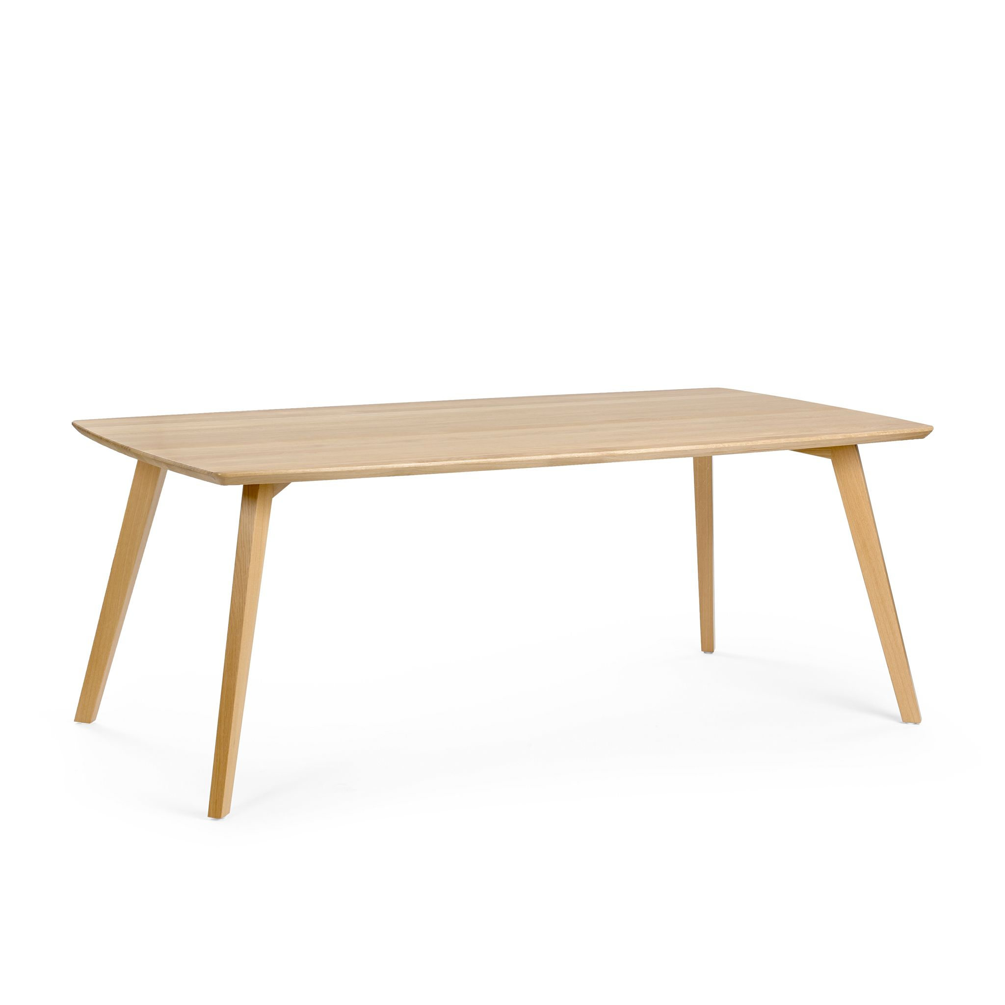 Extending custom solid wood table MOOD #T1 H76 PB - Mobitec Systems S.A.