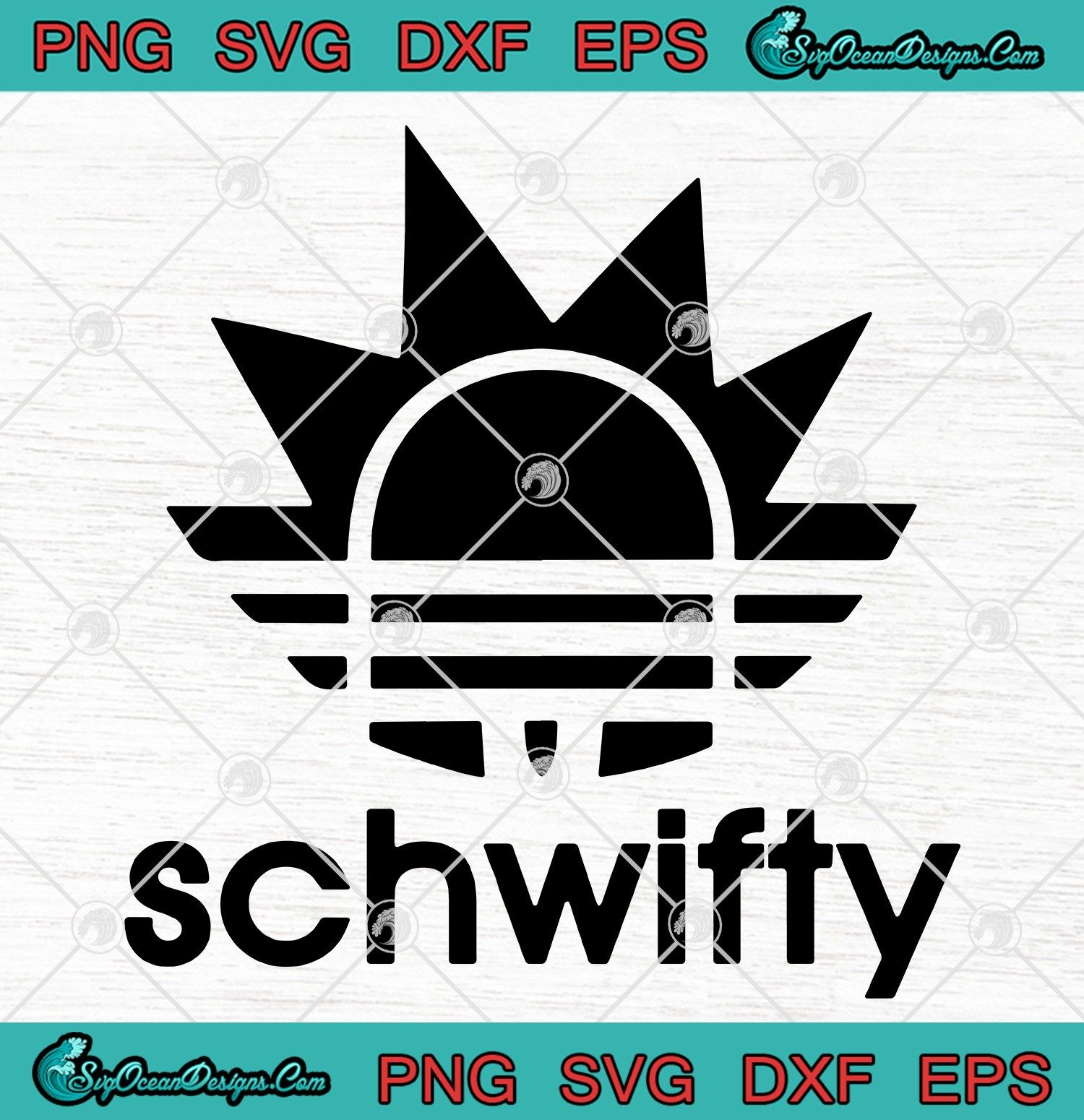 RICK AND MORTY SCHWIFTY Decal Vinyl Sticker ** 5 inch by 5 inch **