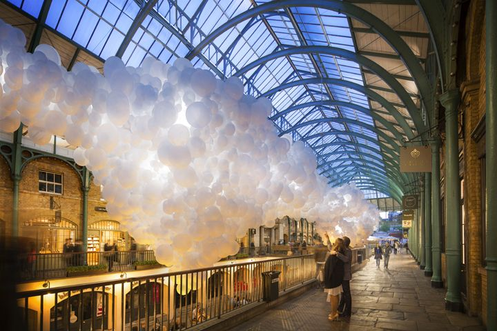 If you thought that balloons were just for small children's birthdays andawkward hen parties, think again. Covent Garden's Market Building is getting a new art...